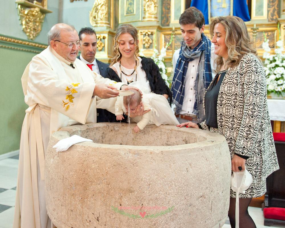 Reportaje de Bautizo en la Iglesia